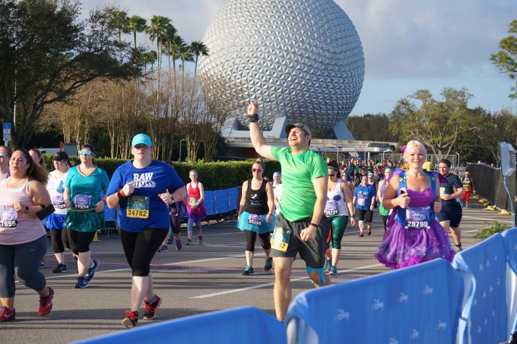 running in Disney Princess race